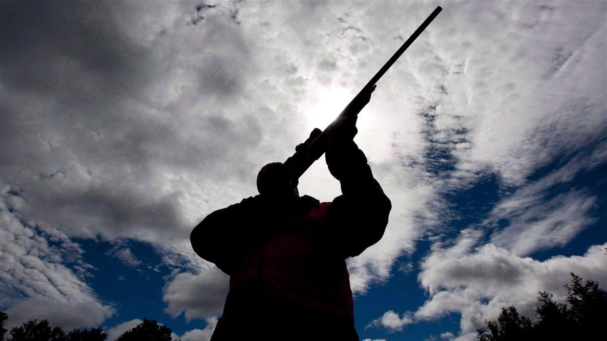 L'arme d'épaule est utilisée pour la chasse