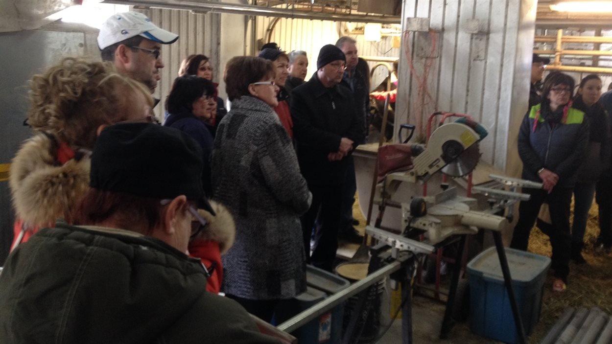 Visite à la ferme Lunick, organisée par Slow Food Abitibi-Témiscamingue
