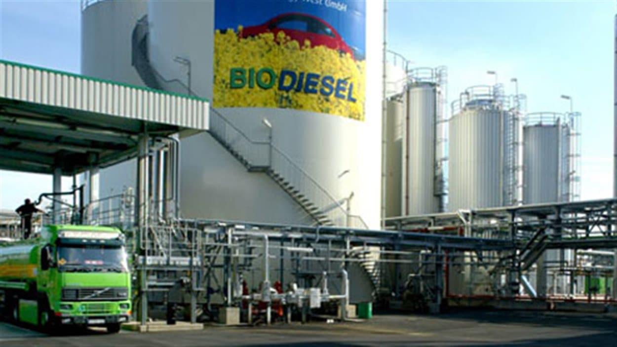 Une usine de biodiesel