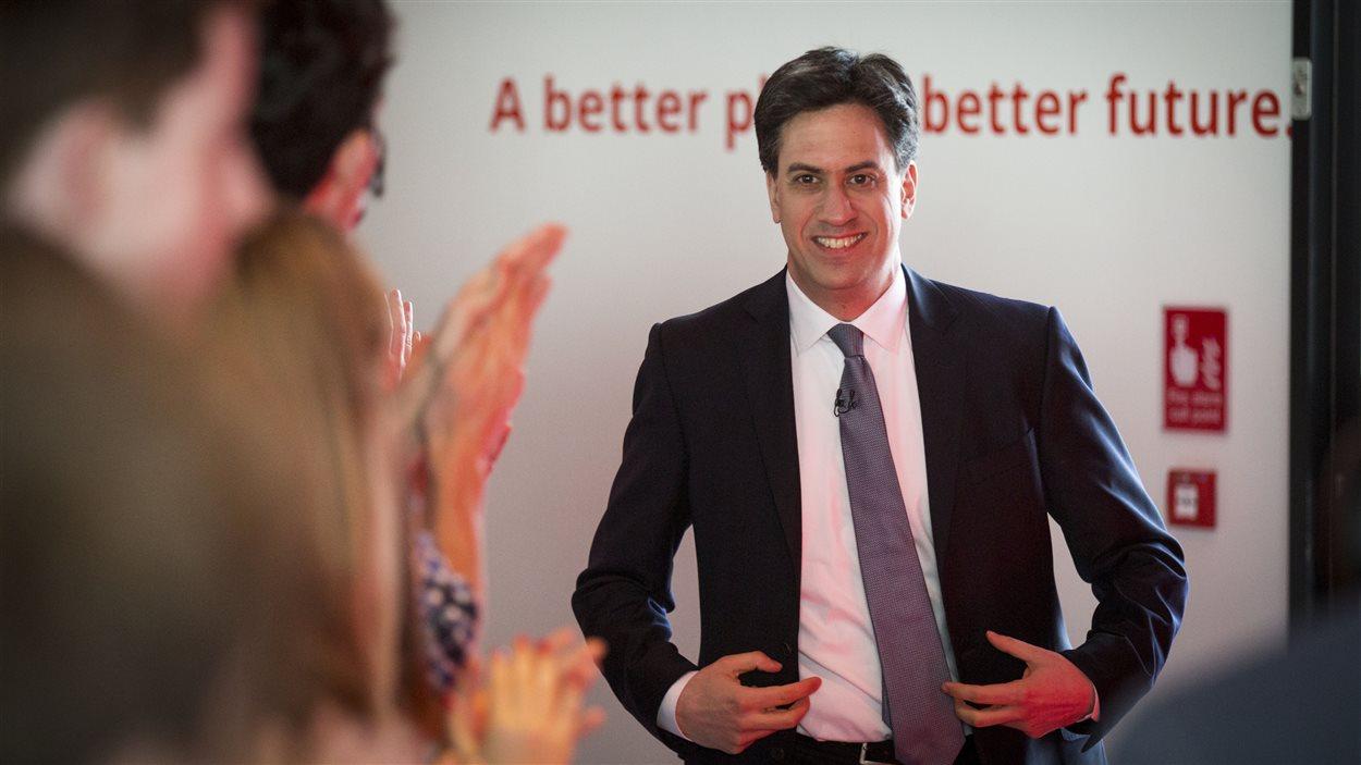 Le chef travailliste Ed Milliband a lancé sa campagne samedi.