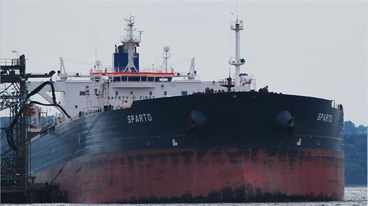 Le pétrolier Sparto