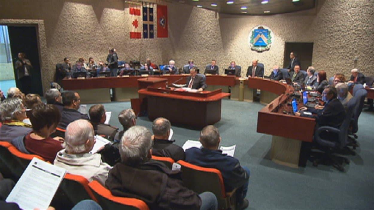 Le conseil municipal de Trois-Rivières