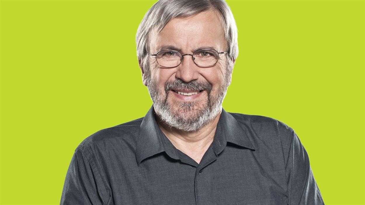Yanick Villedieu, l'animateur des «Années lumière» sur ICI Radio-Canada Première.