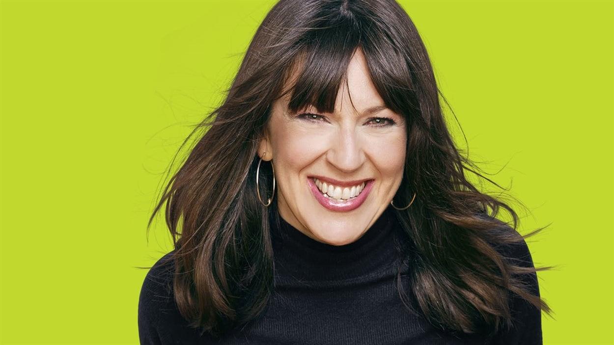 Marie-Louise Arsenault, l'animatrice de «Plus on est de fous, plus on lit!» sur ICI Radio-Canada Première