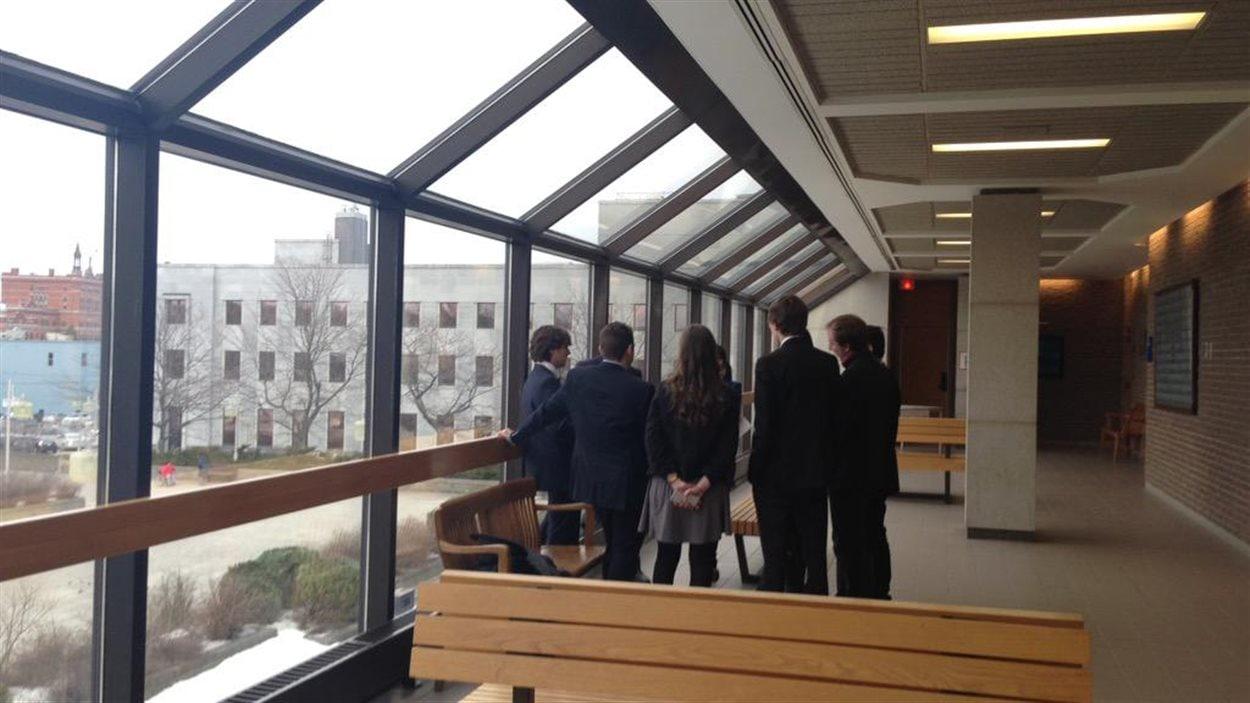L'injonction interlocutoire des 13 requérants de l'Université de Sherbrooke a été entendue au palais de justice de Sherbrooke mercredi.
