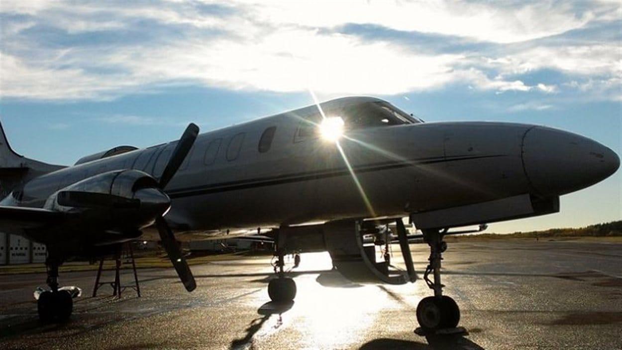 Un avion cargo de la compagnie Carson Air