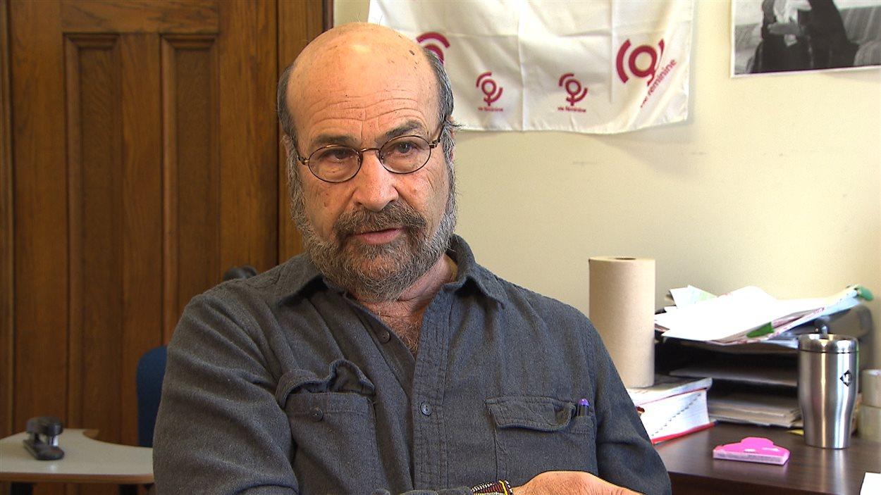 James Torczyner, du RIAC (Réseau international d'action communautaire) de l'Université McGill