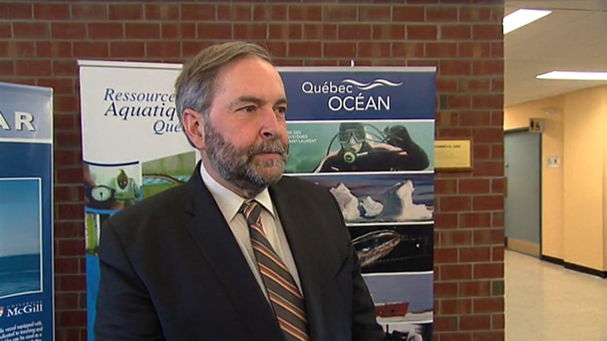 Thomas Mulcair, chef du NPD