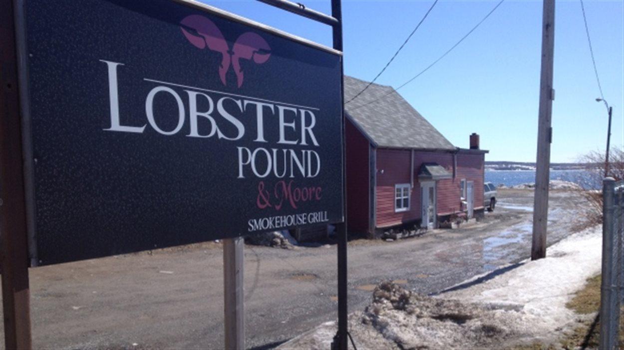 Le restaurant Lobster Pound and Moore de North Sydney, Nouvelle-Écosse.