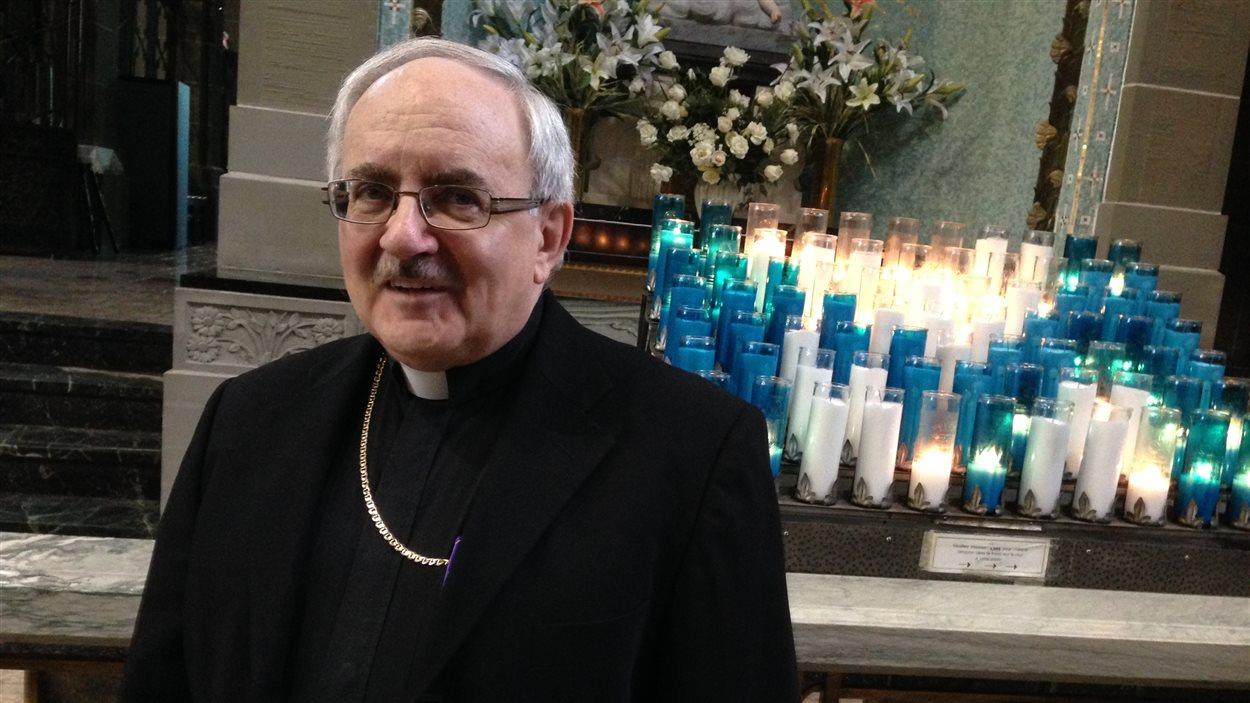 L'archevêque de Moncton, Valéry Vienneau.