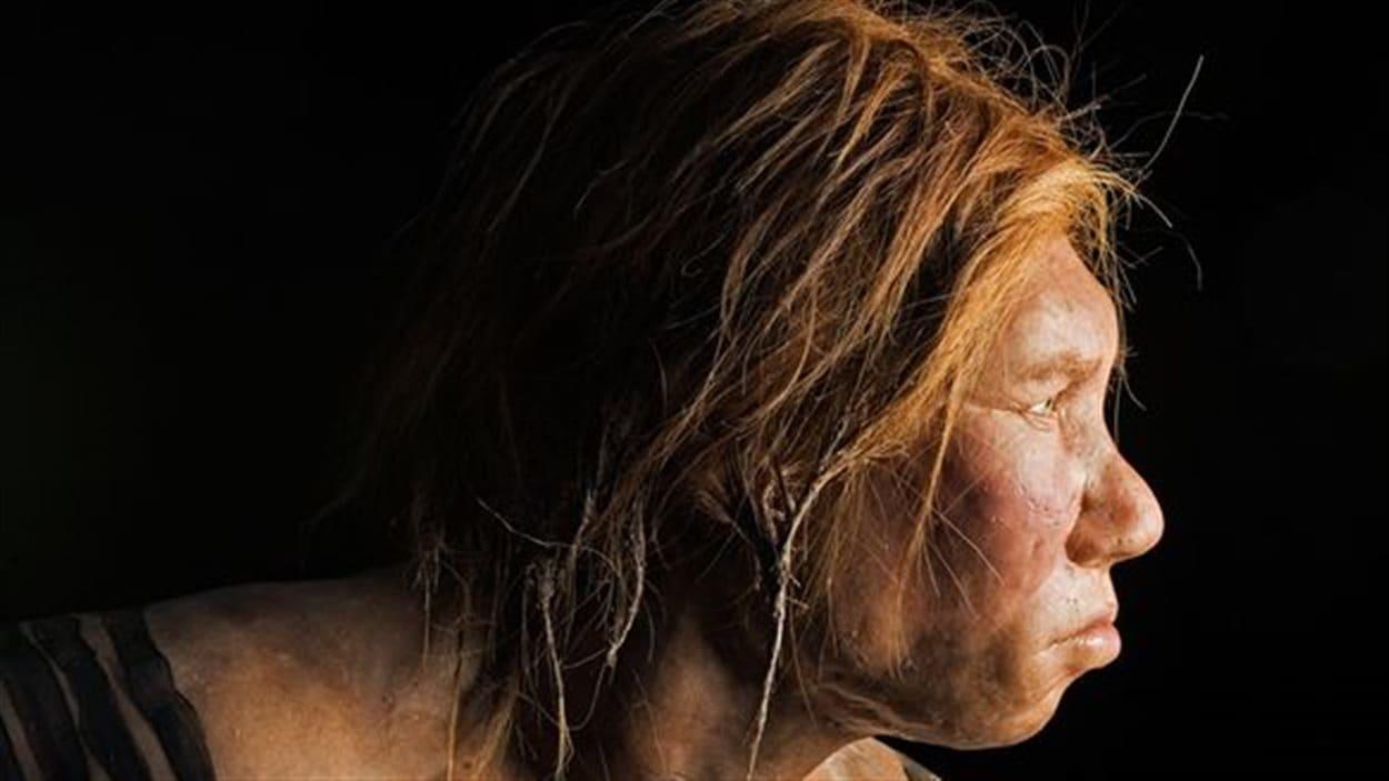 Une femme de Néandertal