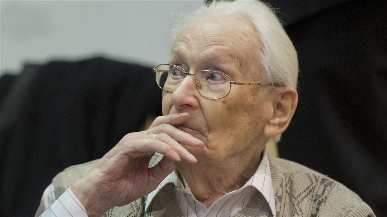 Oskar Groening lors de son procès