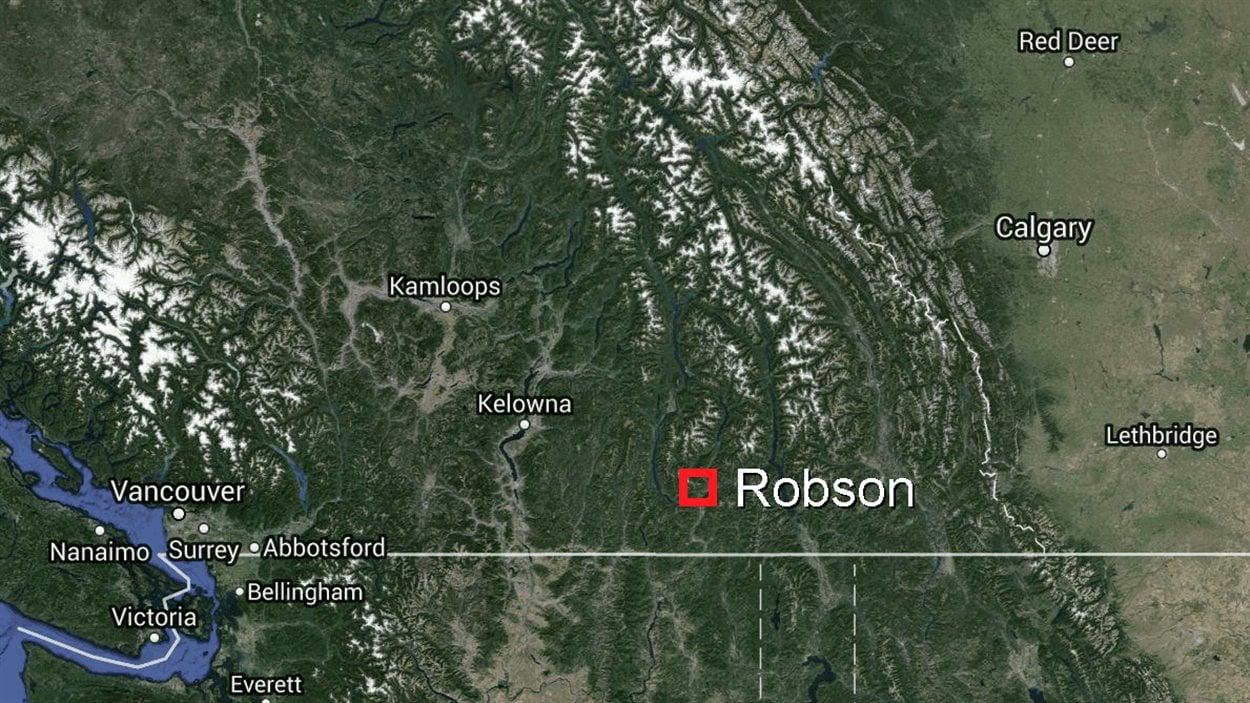Robson, dans le sud-est de la Colombie-Britannique