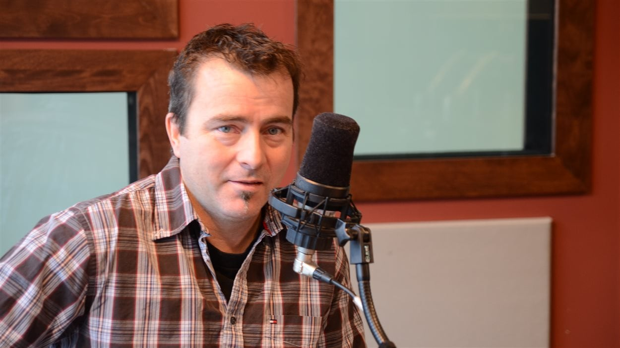 Sylvain Racine aimerait organiser un festival pour mettre en valeur le métier de mineur en Abitibi