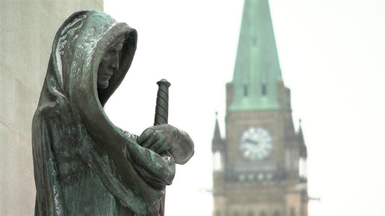 La Cour suprême du Canada à Ottawa