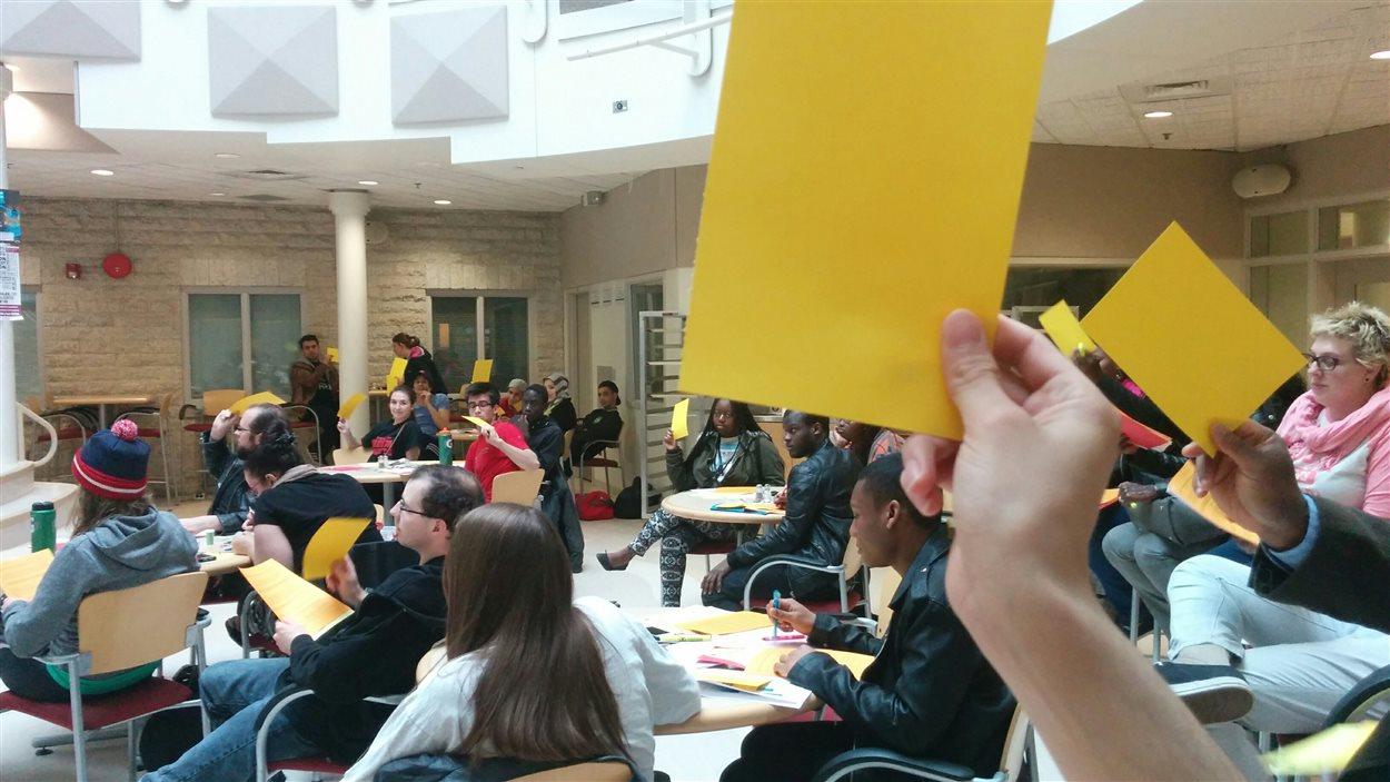 Les étudiants de l'Université de Saint-Boniface ont voté en faveur de donner 700 000 $ pour la construction d'un nouveau pavillon