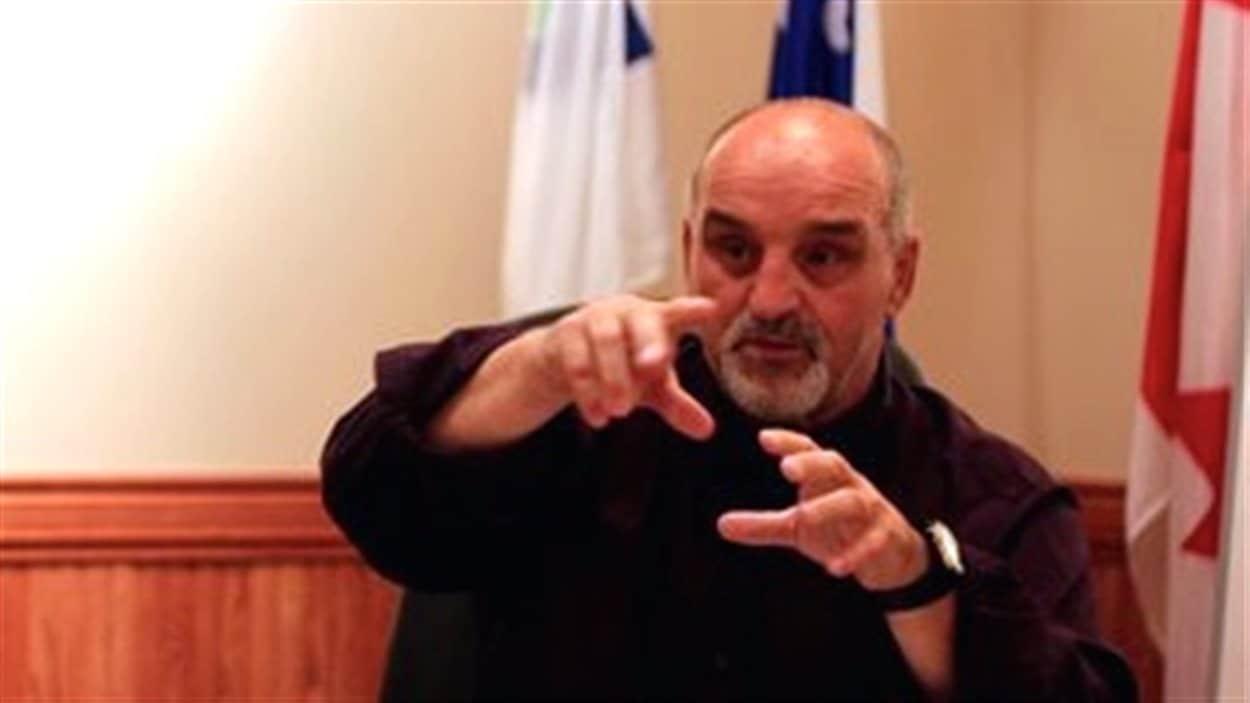 Guy Pilon, maire de Vaudreuil-Dorion