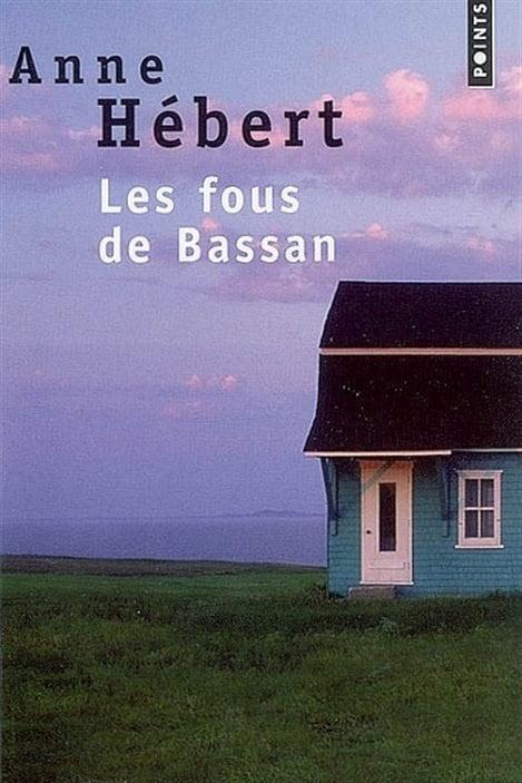 Détail de la couverture des « Fous de Bassan » d'Anne Hébert