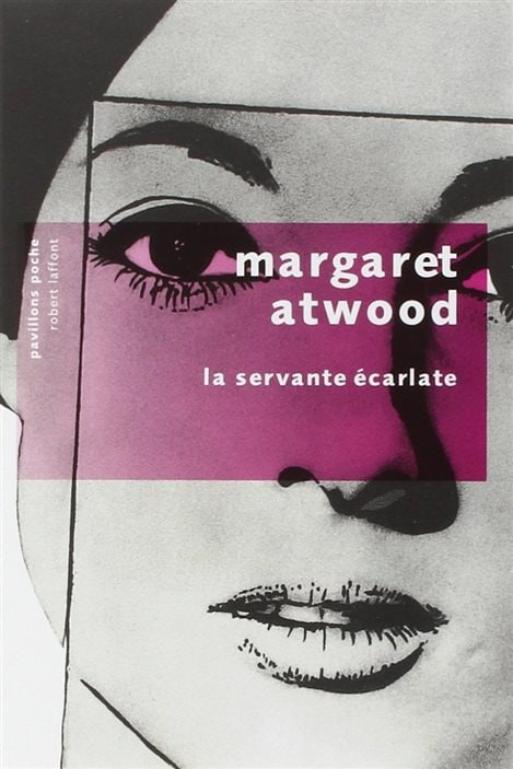 La couverture de «La servante écarlate» de Margaret Atwood.