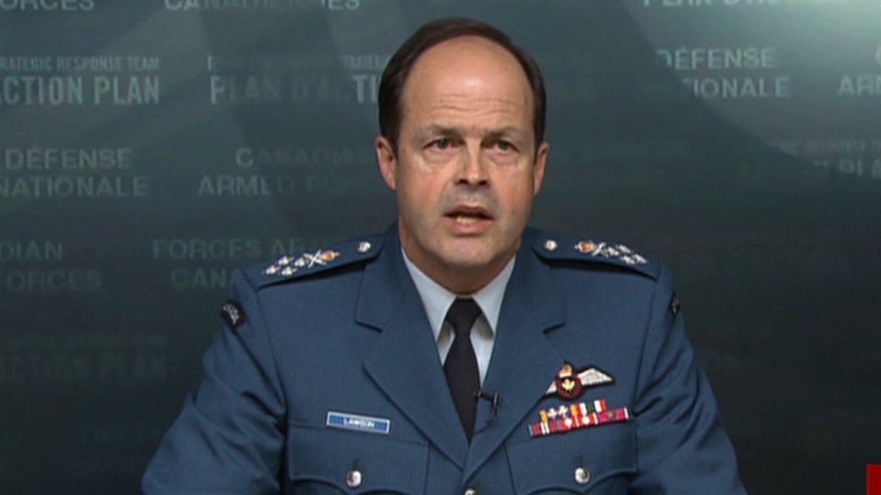 Le général et chef d'état-major des Forces canadiennes, Tom Lawson