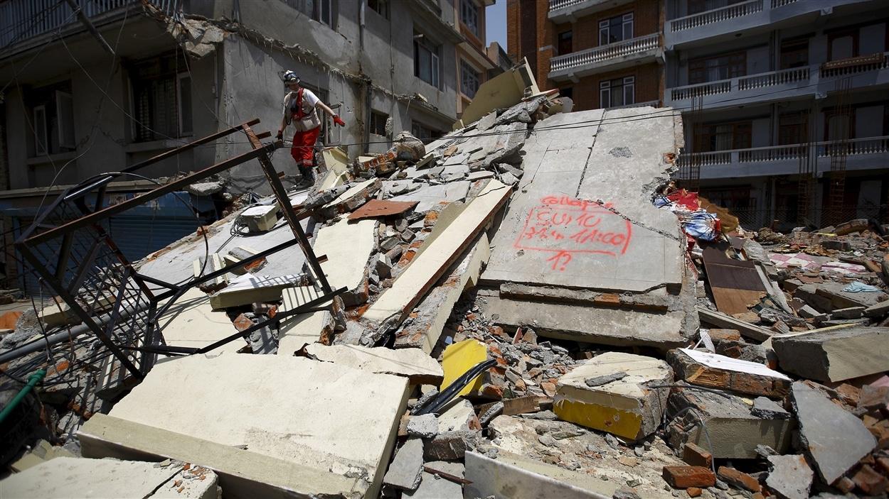 Katmandou sous les décombres