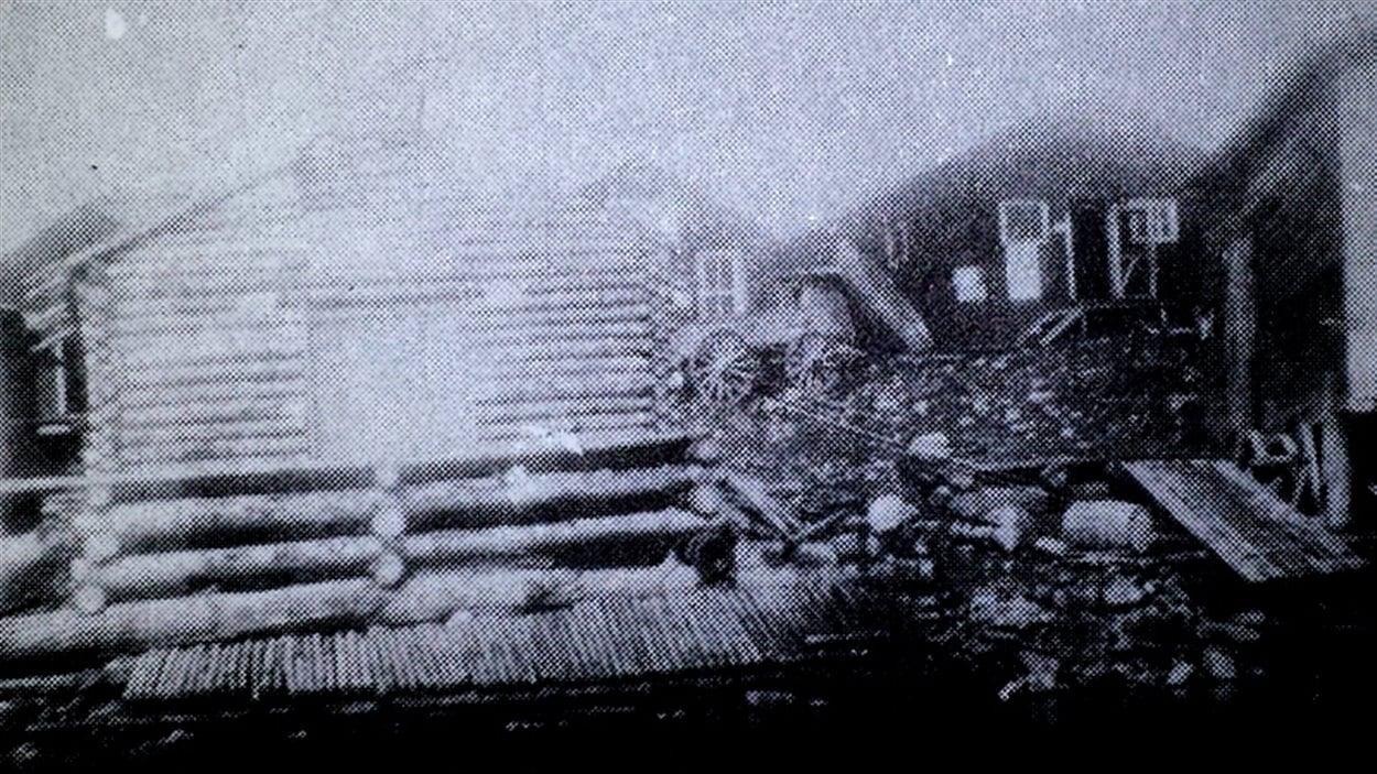 Des baraques de Mercier, en 1925