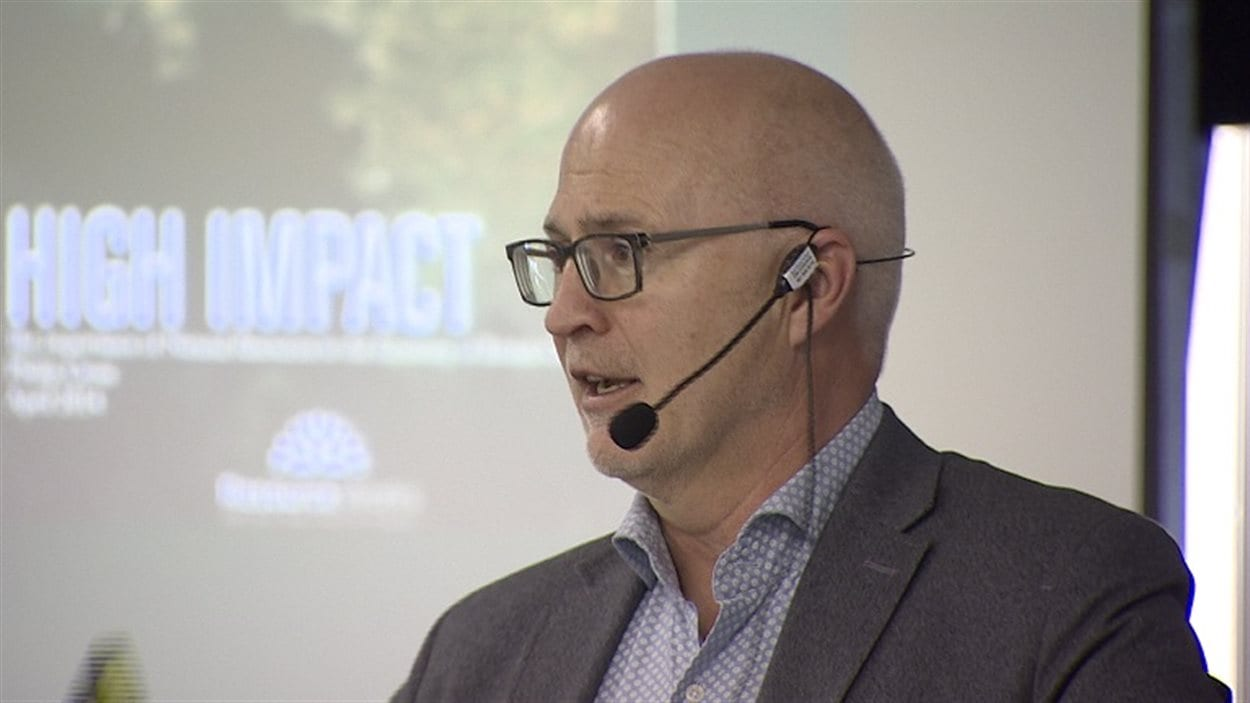 Stewart Muir, directeur général de Resource Works