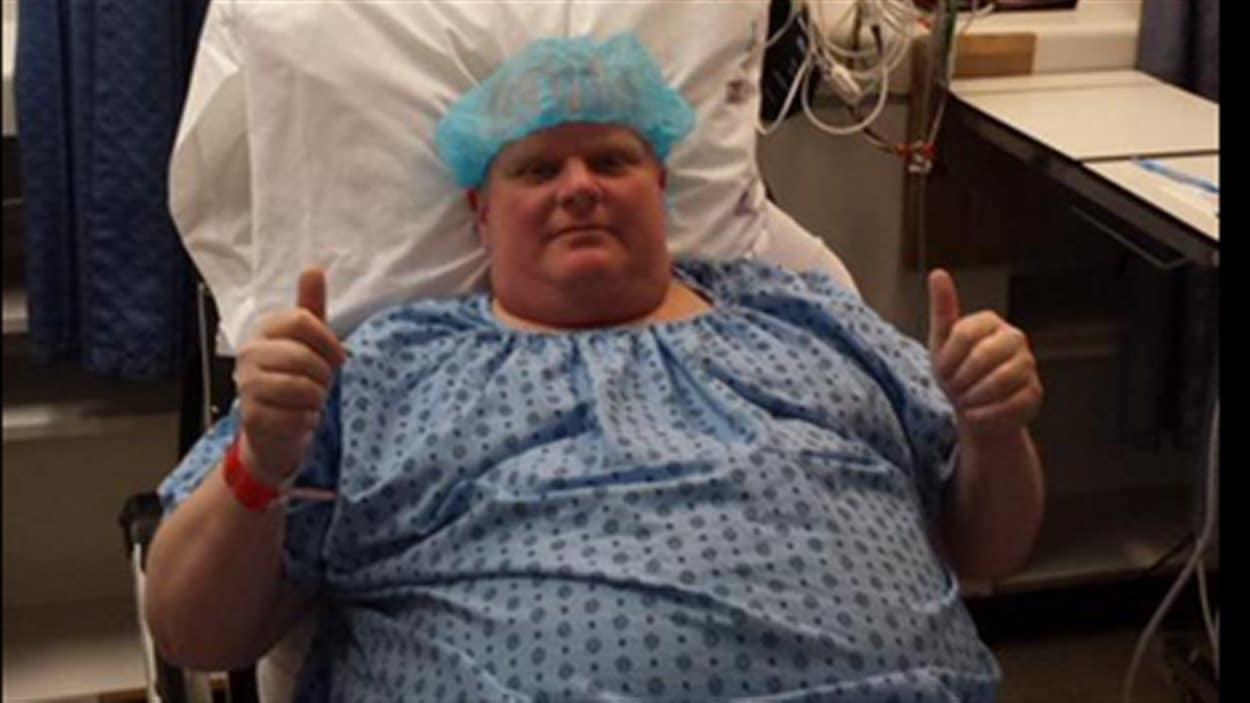 Rob Ford avant sa chirurgie