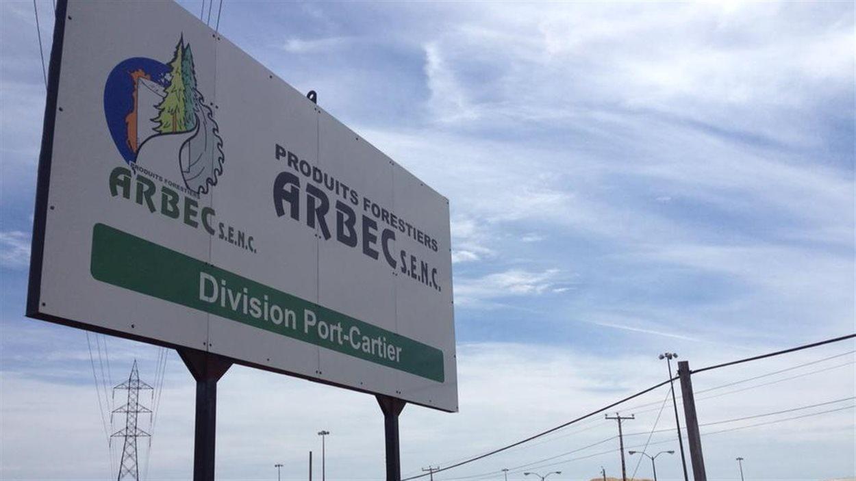 Produits forestiers Arbec à Port-Cartier