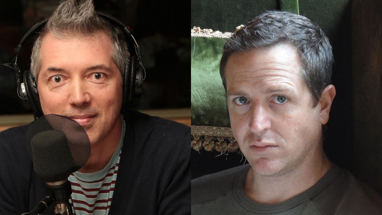 Simon Roy et Hugh Howey