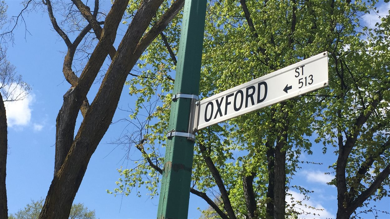 La rue Oxford dans le quartier River Heights