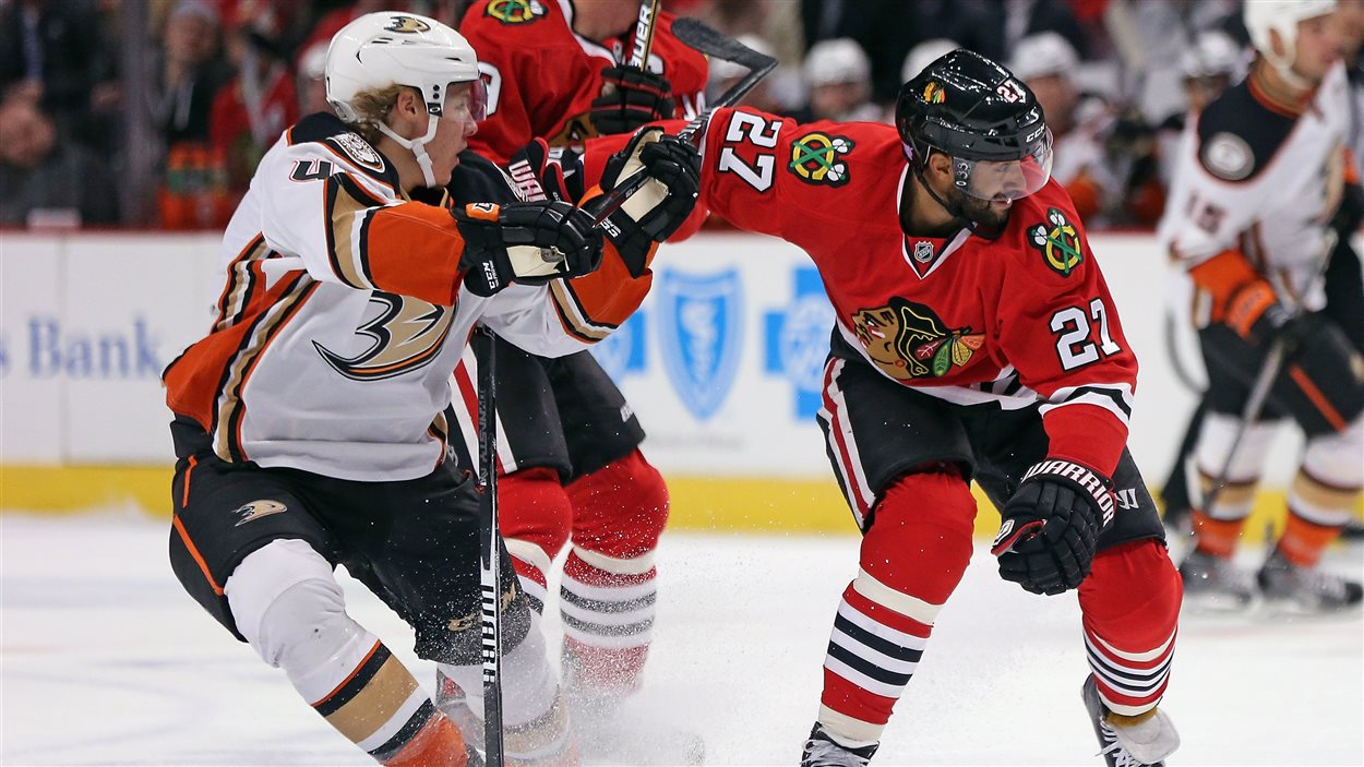 Ducks contre Blackhawks
