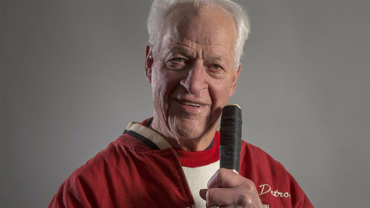 L'ancien hockeyeur Gordie Howe