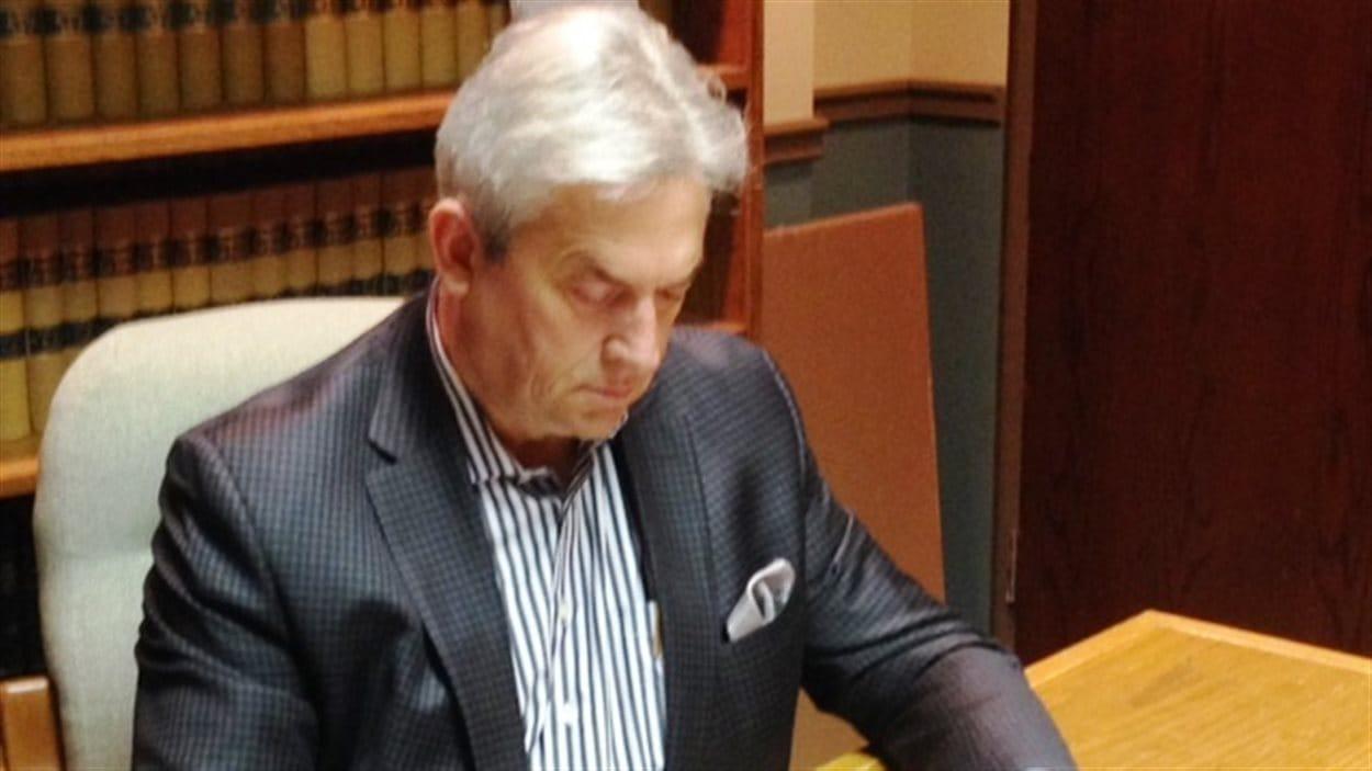 L'avocat Robert Basque