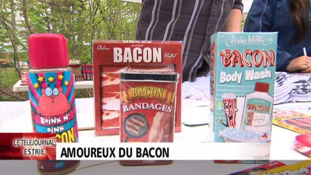 Le Festival du Bacon de Sherbrooke attire les foules.