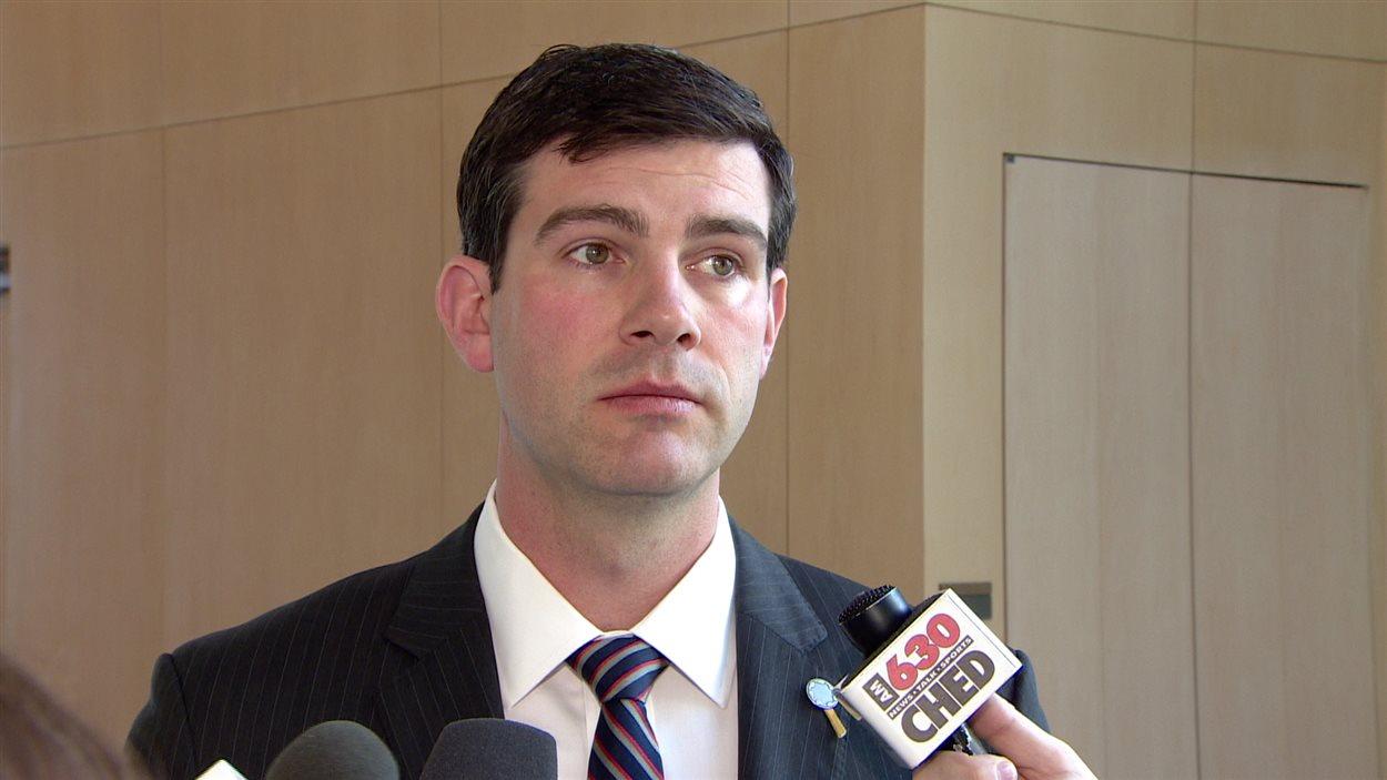 Le maire d'Edmonton Don Iveson.