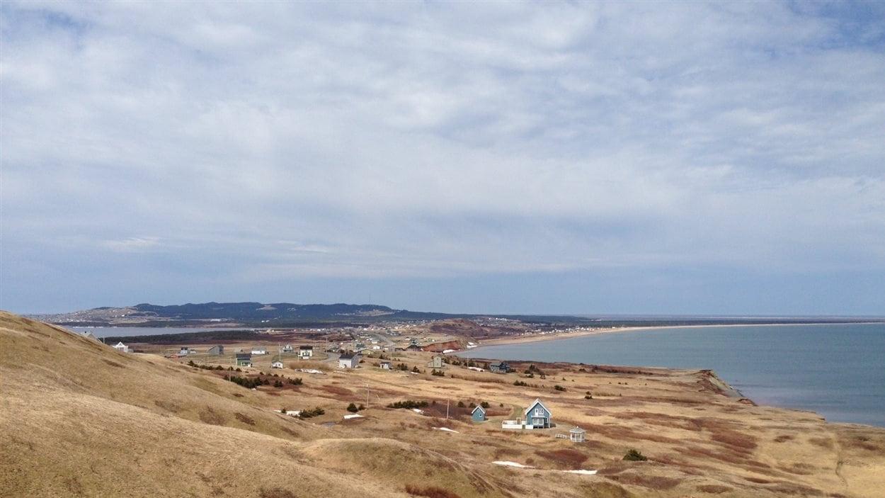 Paysage du Havre-Aubert aux Îles-de-la-Madeleine