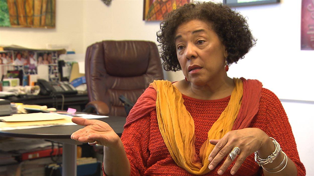 Marjorie Villefranche, directrice de la Maison d'Haïti