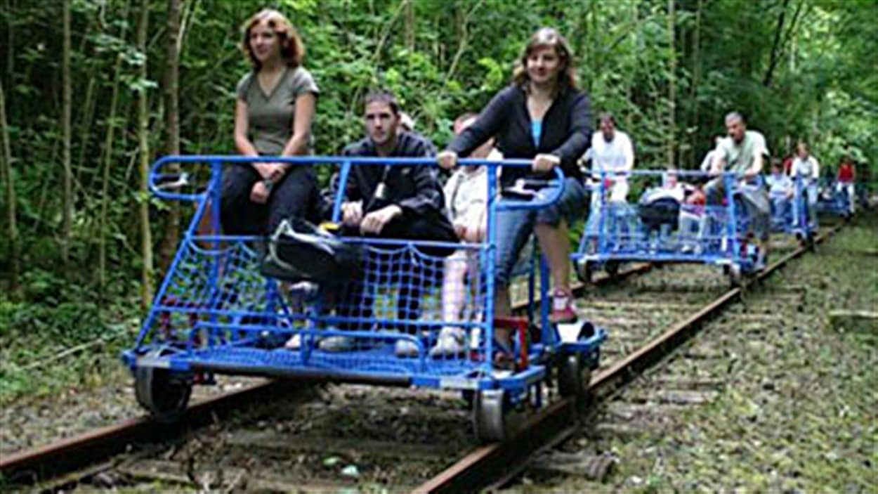 Vélo-rails