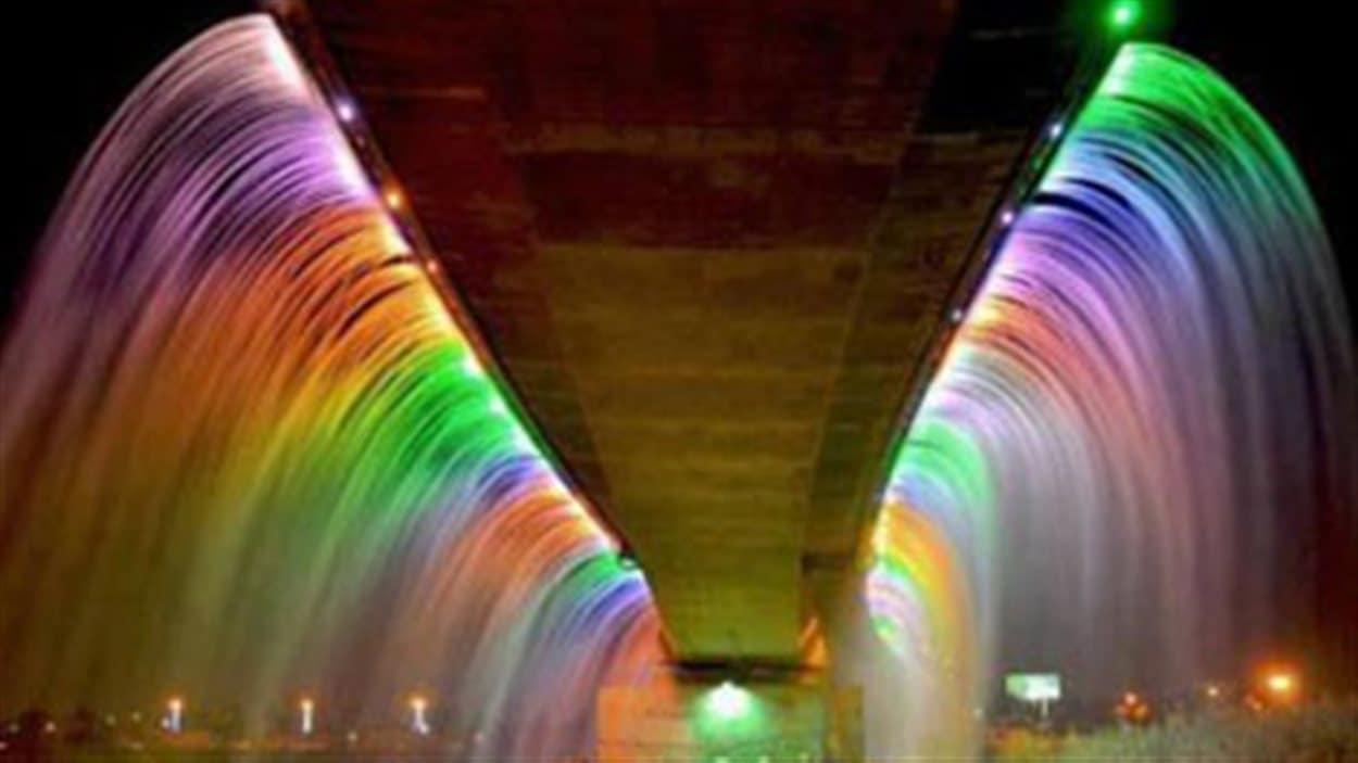 Pont fontaine