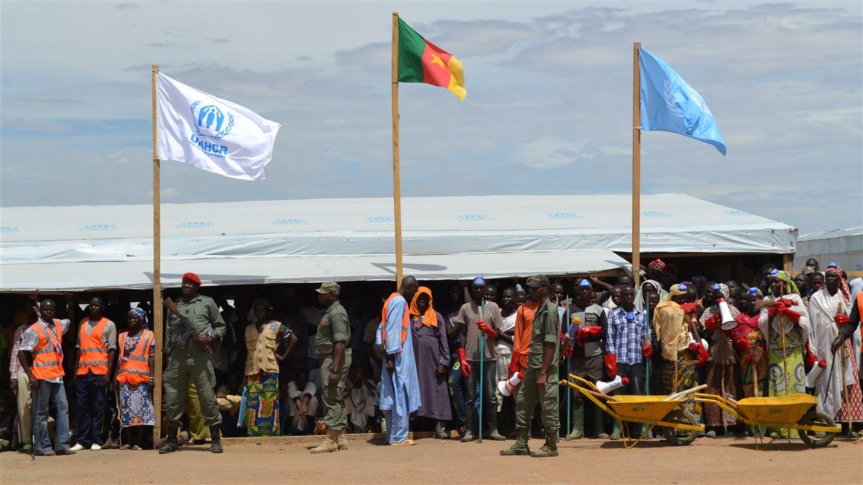 Le camp de réfugiés de l'ONU de Minawao au Cameroun,  abrite aujourd'hui plus de 35 000 personnes. Les Nigérians qui fuient Boko Haram y arrivent presque quotidiennement.