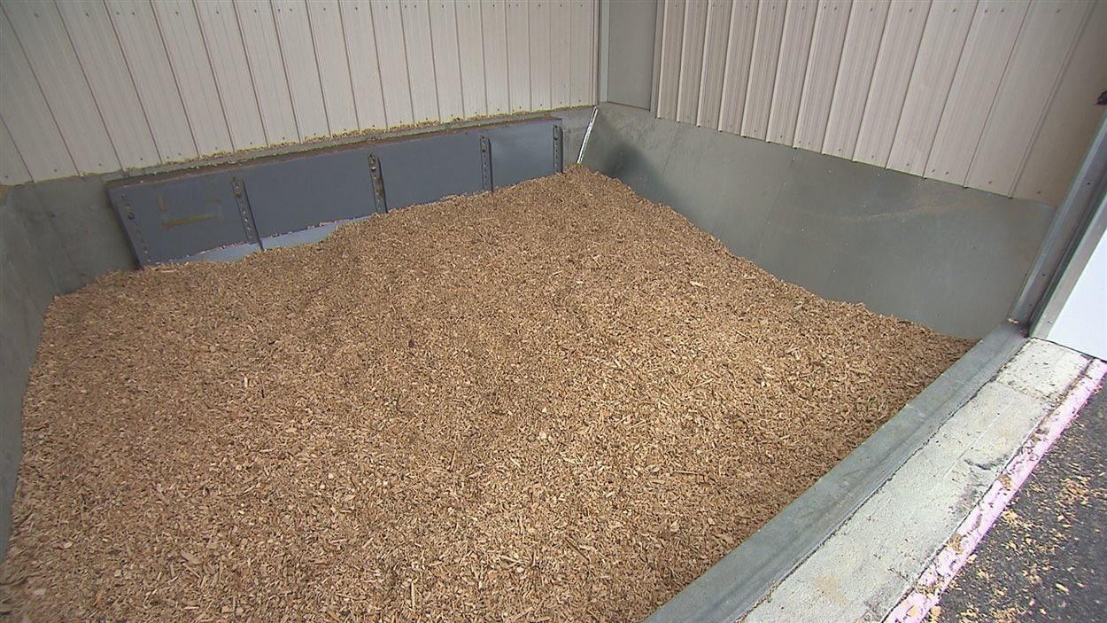 C'est la biomasse forestière qui fournira la chaleur nécessaire pour faire pousser les raisins