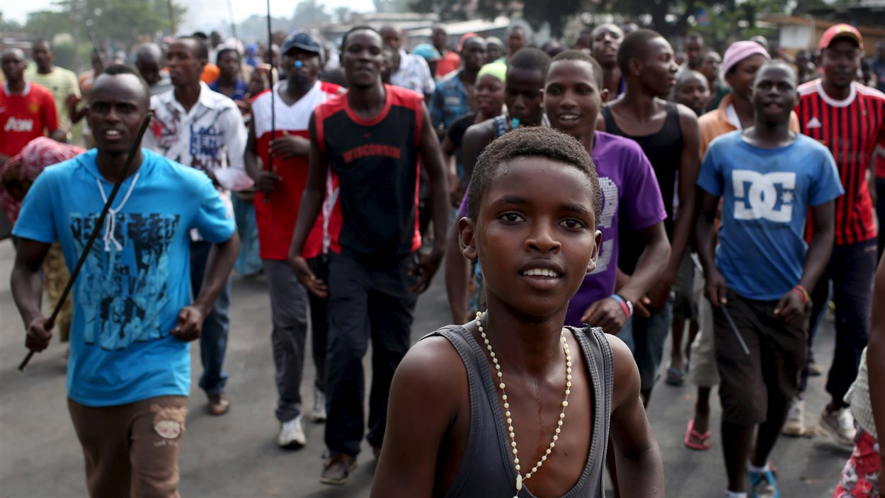 Les manifestations hostiles au président du Burundi ont repris dans plusieurs quartiers de Bujumbura, la capitale du pays.