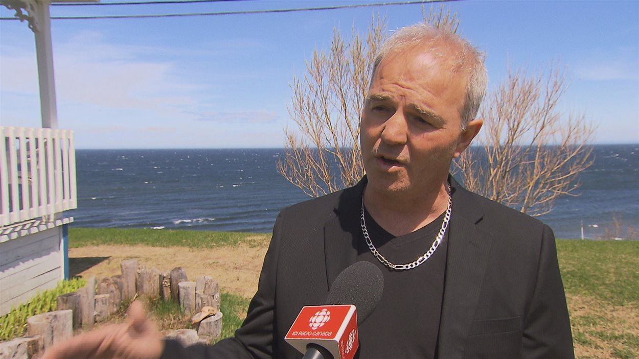 Le nouveau maire de La Martre : Yves Sohier
