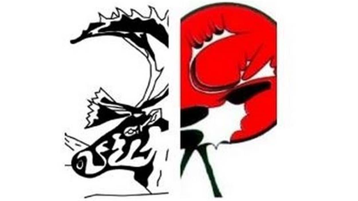 logos représentés par des caribous
