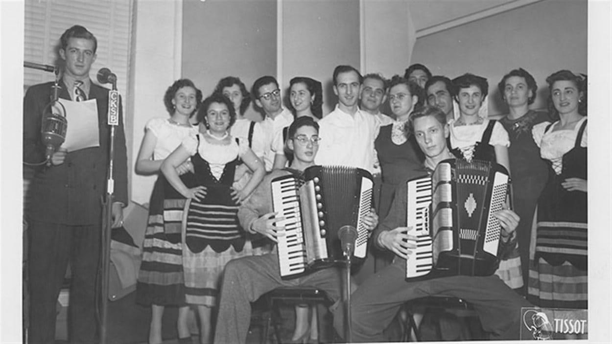 Spectacle avec accordéons à CKSB