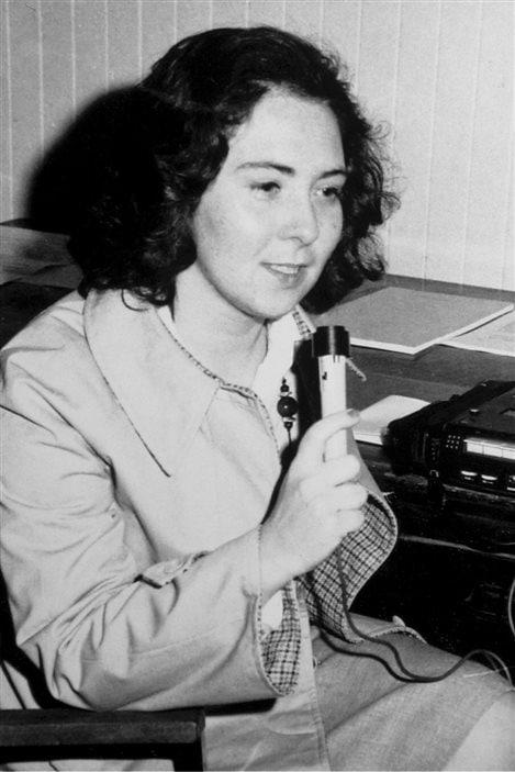 Irène Mahé, annonceur en 1975