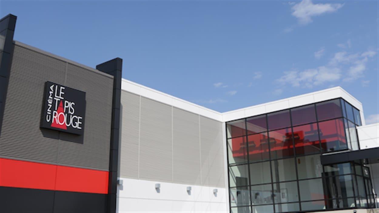 L'édifice du cinéma La Tapis Rouge, à Trois-Rivières
