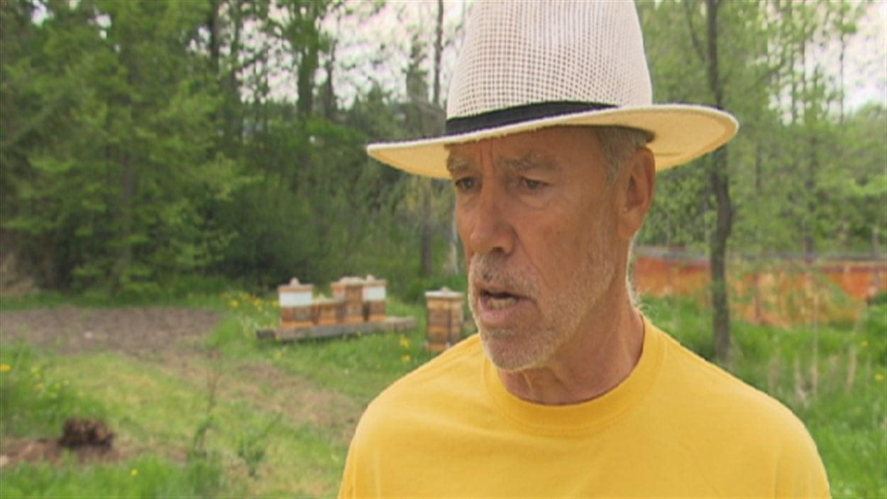 Réjean Côté, propriétaire de la ferme Merci la Terre