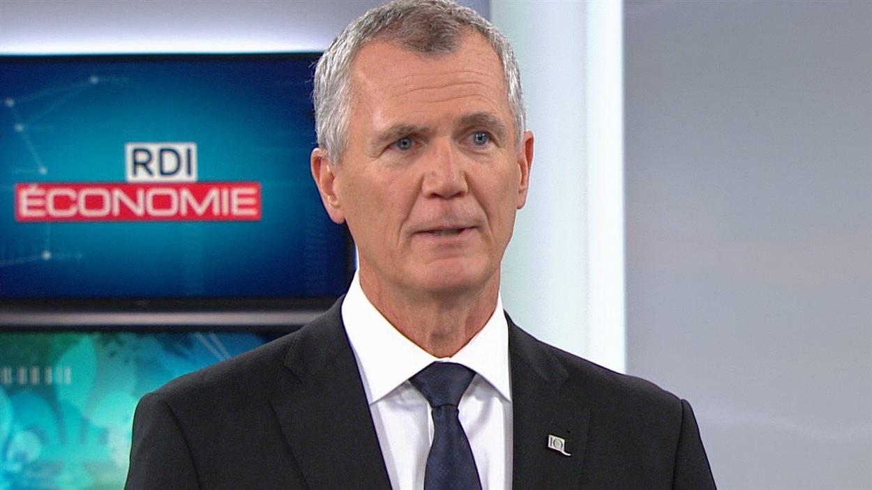Le président-directeur général d'Investissement, Québec Pierre Gabriel Côté